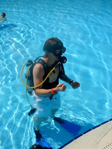 diving breathing with your mouth only